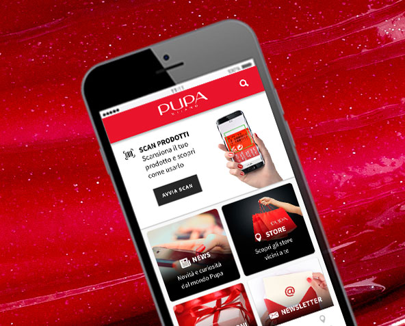 App Mobile - PUPA Milano