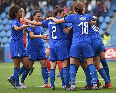 PUPA è il make up delle Nazionali Italiane Femminili di Calcio