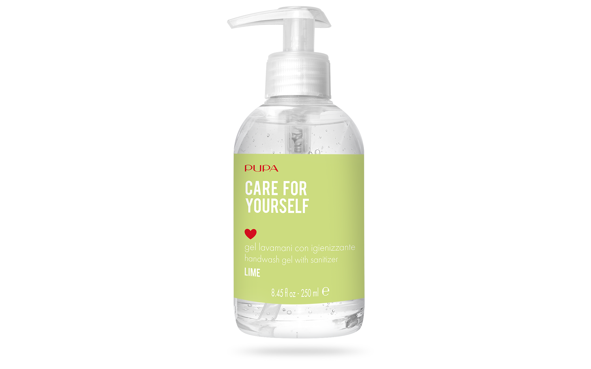 "2T2N02A001_8011607346783_Gel_igenizzante250_big_30062020170506 PUPA MILANO PRESENTA ""CARE FOR YOURSELF"" LA TUA NUOVA BEAUTY ROUTINE"