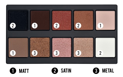 Make Up Stories Palette Spicy Nudes - PUPA Milano