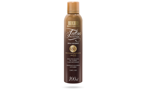 Tattoo Protection Spray Invisibile SPF 50+ - PUPA Milano