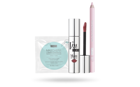 Kit I'm Matt Lip Fluid - PUPA Milano