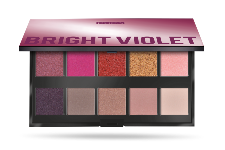 Make Up Stories Palette Bright Violet - PUPA Milano