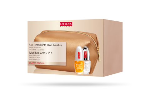 Gel Rinforzante alla Cheratina & Multi Nail Care 7 in 1 - PUPA Milano