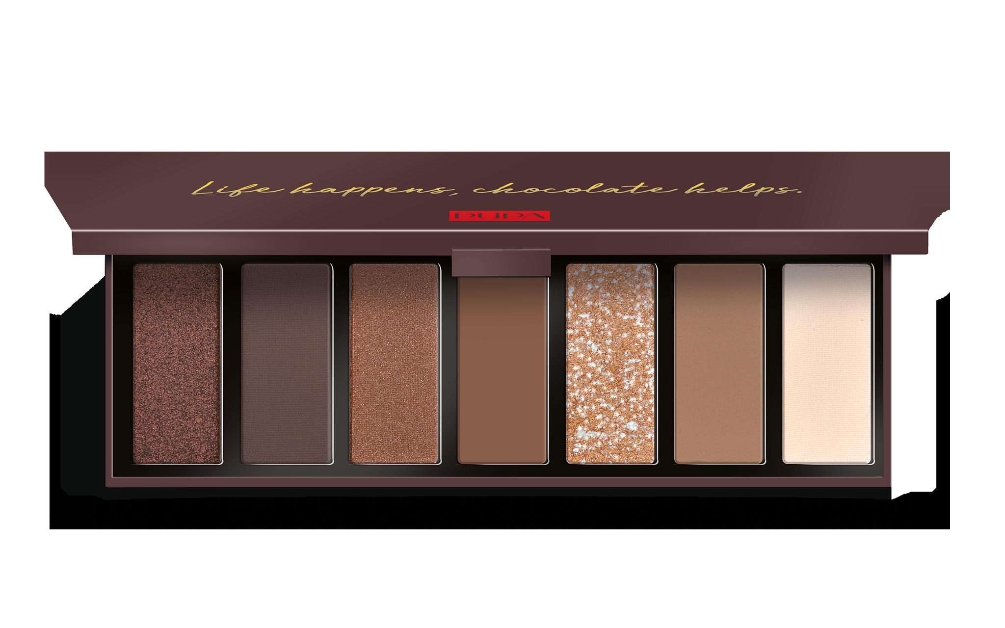 Zero Calorie Chocolate Eyeshadow Palette - PUPA Milano