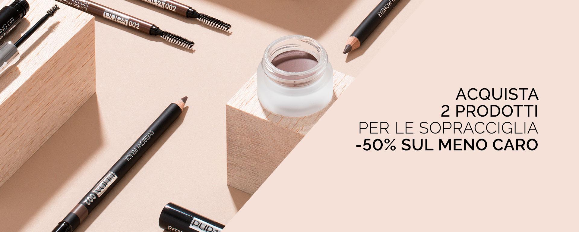 Promo eyebrow - PUPA Milano