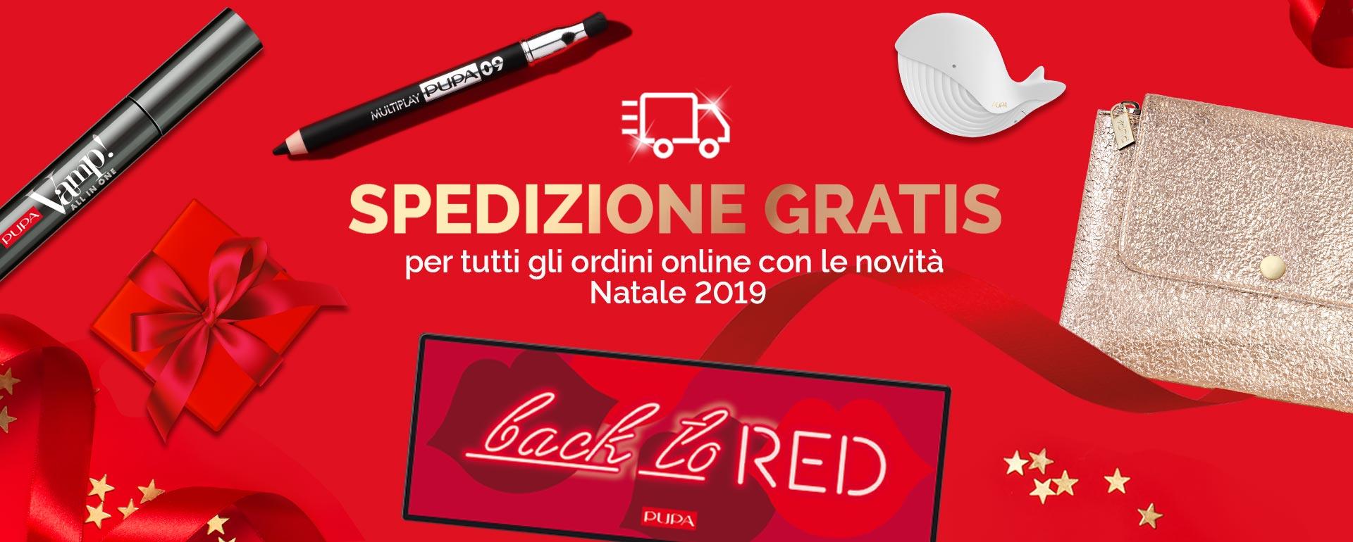 Spedizione gratuite con le novità - PUPA Milano