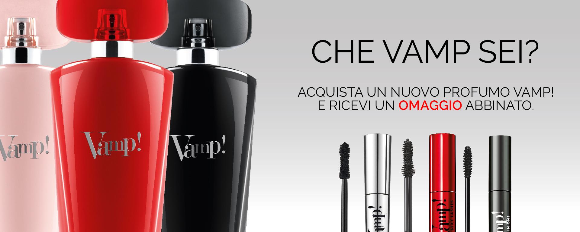 Promo EDP Vamp! - PUPA Milano
