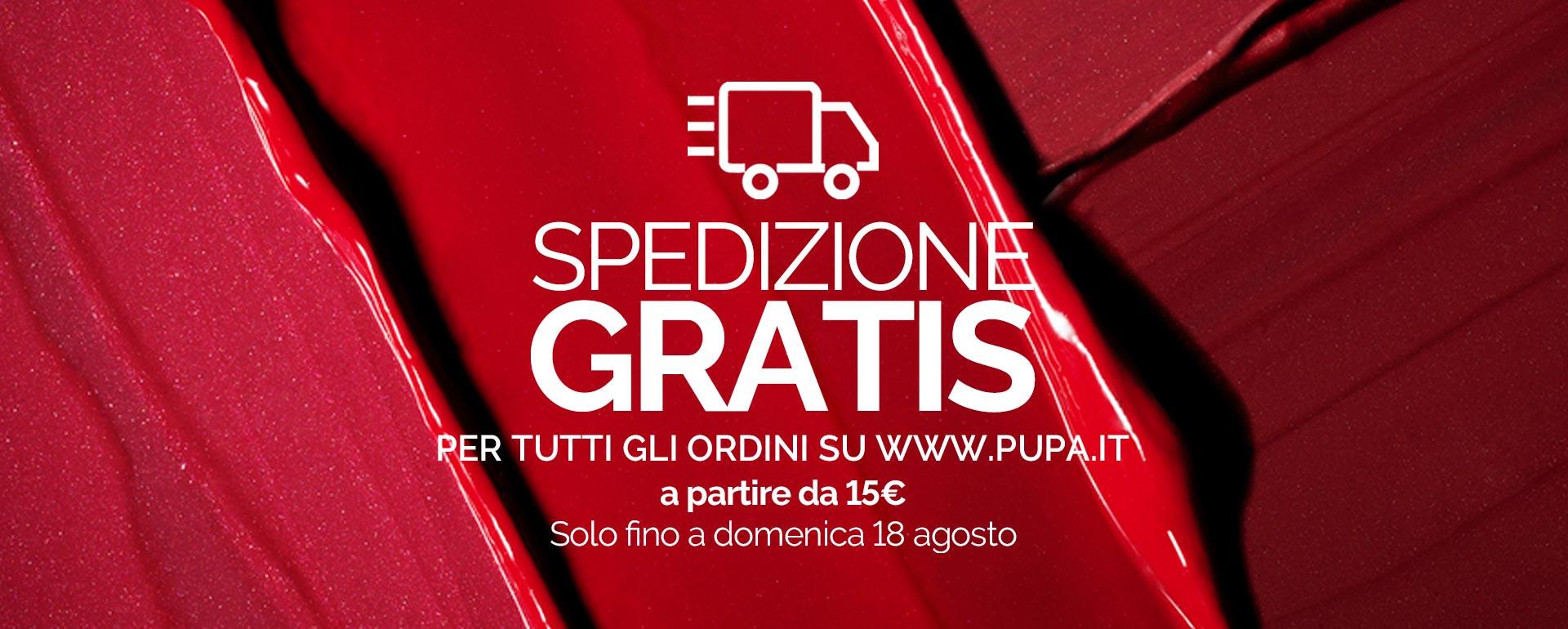 Free Shipping - PUPA Milano