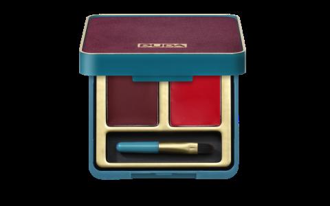 Retro illusion Lip Palette