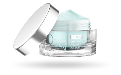 HYDRA REVOLUTION Crema Sorbetto Trattamento Idratante per pelli Normali-Miste Viso e Collo