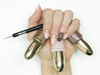 Pink Muse Nail Art