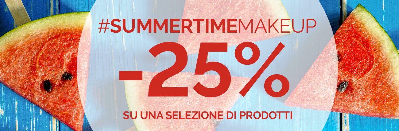Promo Summertime Make Up